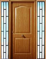 Cruz puertas y molduras s l puertas exterior puerta acero galvanizado imitacion madera - Vinilos imitacion madera para puertas ...